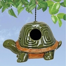 Porcelain Birdhouse, Turtle Design