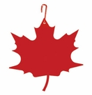 Red Maple Leaf, Hanging Art, Wrought Iron