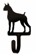 Wall Hook, Boxer, Dog, Wrought Iron