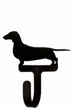 Wall Hook, Dachshund, Dog, Wrought Iron