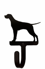 Wall Hook, Pointer, Dog, Wrought Iron