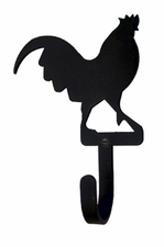 Wall Hook, Rooster, Wrought Iron