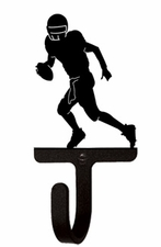 Wall Hook, Football Player, Wrought Iron
