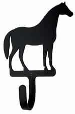 Wall Hook, Horse, Wrought Iron