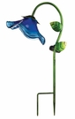 Solar Light, Garden Stake, Bell Flower, Blue