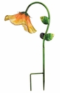 Solar Light, Garden Stake, Bell Flower, Yellow