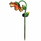 Solar Light, Mini Bell Flower, Garden Stake, Yellow