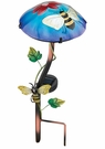 Solar Light, Garden Stake, Mushroom with Bee