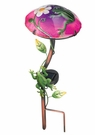 Solar Light, Garden Stake, Mushroom with Frog
