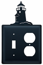 Switch and Outlet Cover, Lighthouse, Wrought Iron
