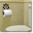 TOILET TISSUE HOLDERS, WROUGHT IRON