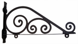 Sign Bracket, Traditional, Wrought Iron, 36 Inch