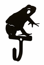 Wall Hook, Frog, Wrought Iron