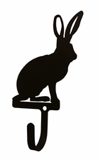 Wall Hook, Jack Rabbit, Animals, Wrought Iron