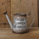 Watering Can, Fresh Flower Market, Tin