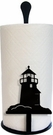 Paper Towel Holder, Lighthouse, Countertop, Wrought Iron