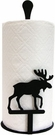 Paper Towel Holder, Moose, Countertop, Wrought Iron