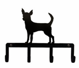 Key Holder, Hanger, Leash Hook, Chihuahua, Jewelry Hooks, Wrought Iron
