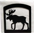 Napkin Holder, Moose Silhouette, Wrought Iron