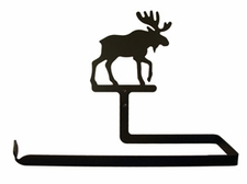Paper Towel Holder, Moose, Wall Mount, Wrought Iron