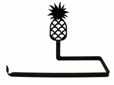 Paper Towel Holder, Pineapple, Wall Mount, Wrought Iron