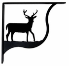 Shelf Brackets, Wrought Iron, Deer, Medium