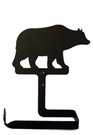 Toilet Tissue / Paper Holder, Bear, Wrought Iron, Traditional