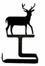 Toilet Tissue / Paper Holder, Deer, Wrought Iron, Traditional