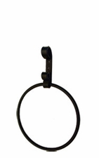Towel Ring, Wrought Iron