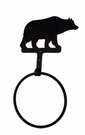 Towel Ring, Bear, Wrought Iron