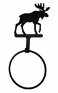 Towel Ring, Moose, Wrought Iron