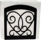 Napkin Holder, Victorian Heart, Wrought Iron