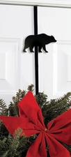 Wreath Hanger, Holder, Bear, Wrought Iron