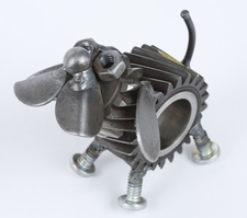 Yardbirds, Chubs the Dog Sculpture, Engine-New-Ity