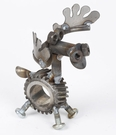 Yardbirds, Chubs the Moose Sculpture, Engine-New-Ity