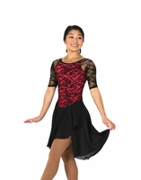 Classic Lace Dance Red