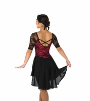 273 Classic Lace Dance Red