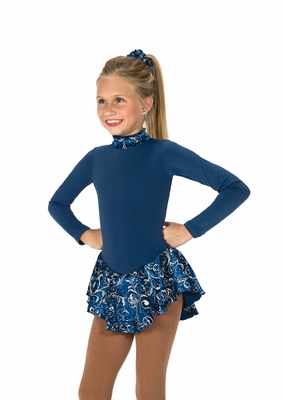 Frost on Fleece Dress - Blue Frost