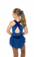 Ice Shimmer Dress – Royal Blue