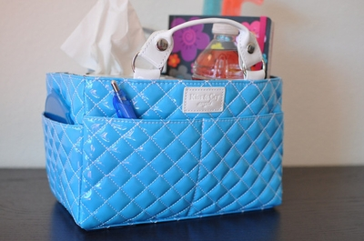 Rink Tote - Bubbly - Blue