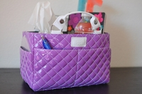 Rink Tote - Bubbly - Lavender