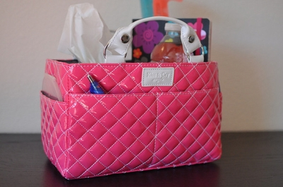 Rink Tote - Bubbly - Pink