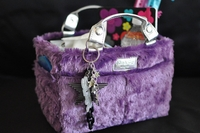 Rink Tote - Fluffy - Purple