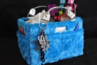 Rink Tote - Fluffy - Turquoise