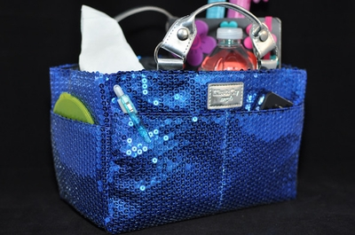 Rink Tote - Jazzy - Sapphire