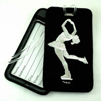 Skater Luggage Tag