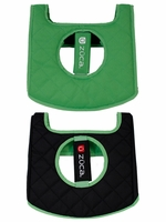 Zuca Seat Cushion Black/Green