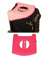 Zuca Seat Cushion Pink Hot/Dots Pink
