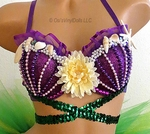 b00bd11cf8 Ariel Little Mermaid Rave Bra