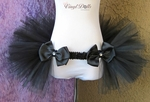 Black Rave Bustle TuTu